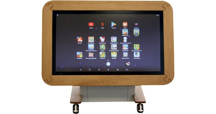 Sharp Interactive Touch Tables : Nursery Table - L80NT40RB01 : Early Years  Edition - IBS Office Solutions